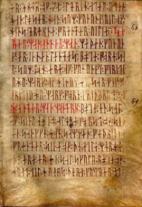 Anglo-Saxon Runic Poem